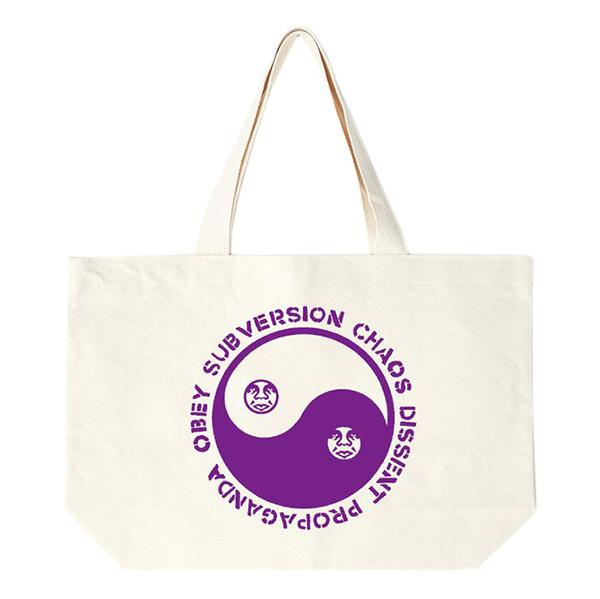 Obey Subversion Tote Bag Natural