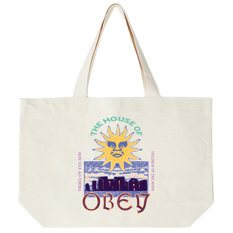 Obey The House Of Obey Bag Natural