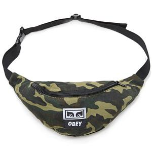 Obey Wasted Hip Bag Field Camo