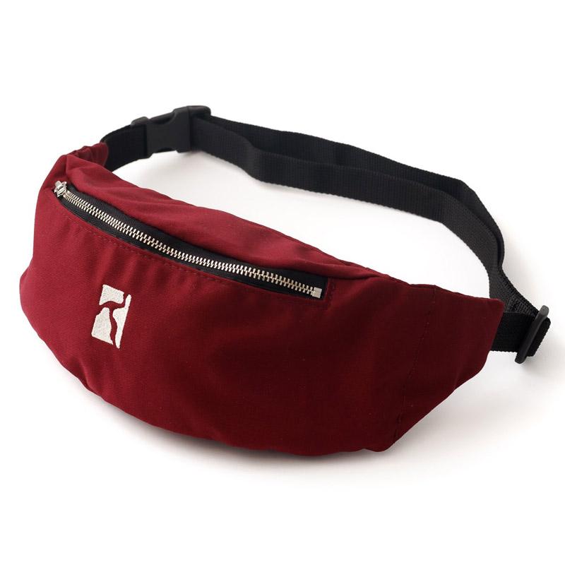 Poetic Premium Belt Bag Maroon