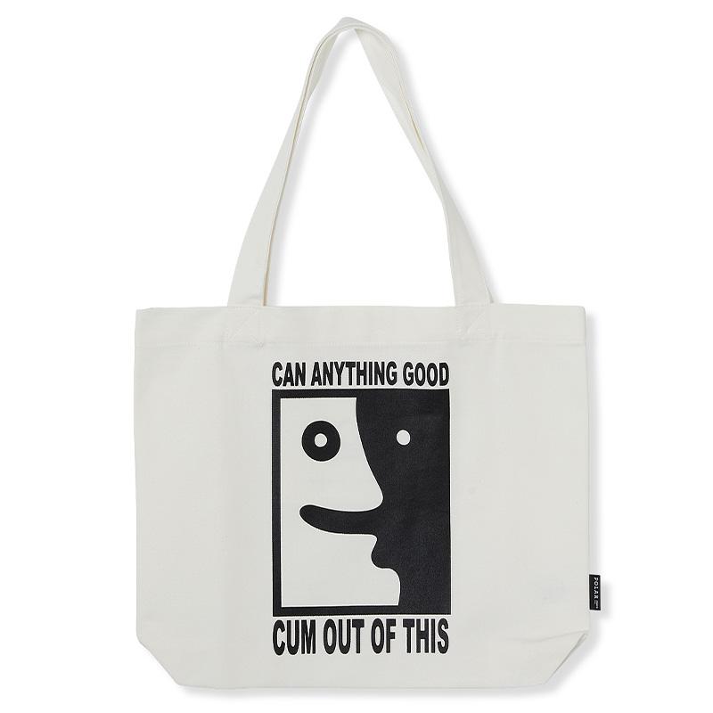 Polar Anything Good Tote Bag White