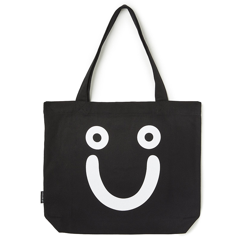Polar Happy Sad Tote Bag Black
