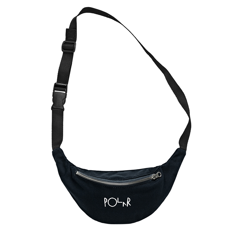 Polar Script Logo Hip Bag Black