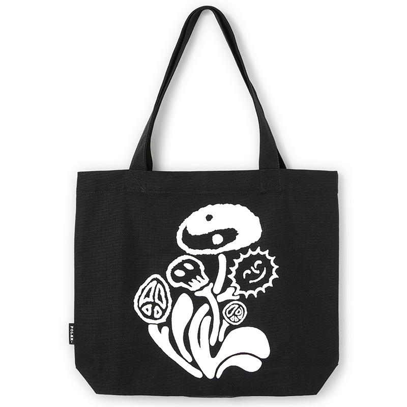 Polar Trippin' Tote Bag Black