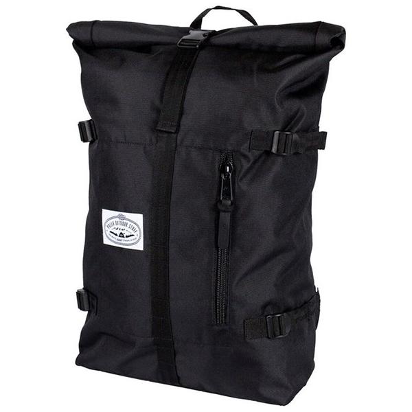 Poler Classic Rolltop Backpack Black