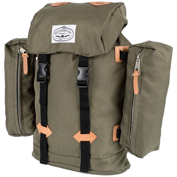 Poler Rucksack Backpack Burnt Olive
