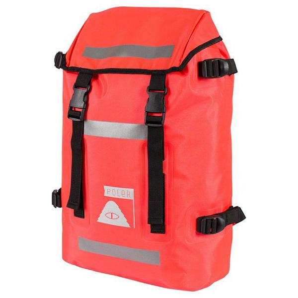 Poler High & Dry Rucksack Backpack Coral