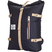 Poler Classic Rolltop Backpack Black/Khaki