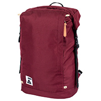 Poler Rolltop Backpack Burgundy