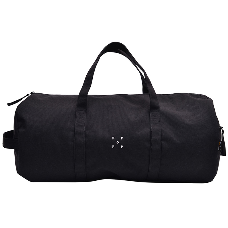 Pop Trading Company Cordura Duffel Bag Black