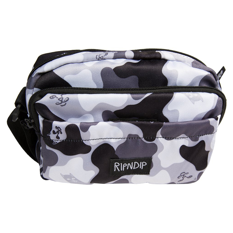 RIPNDIP Blizzard Shoulder Bag Black