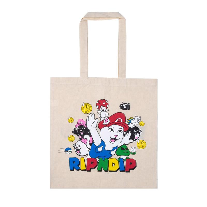 RIPNDIP Nermio Tote Bag Natural