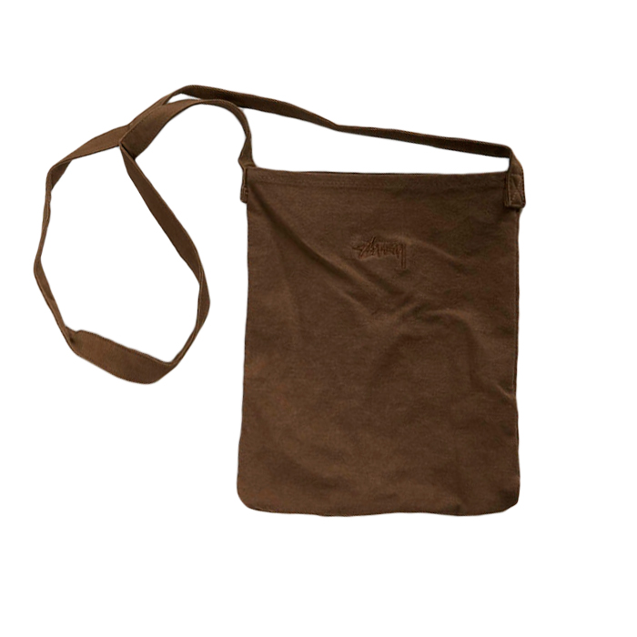Stussy Clark Shoulder Bag Brown