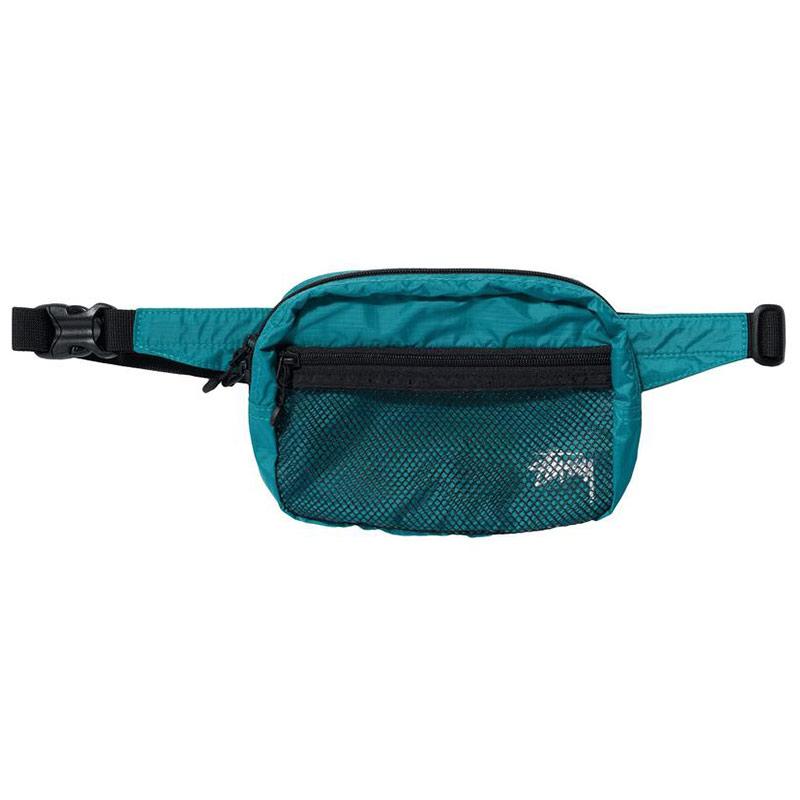 Stussy Light Weight Waist Bag Teal