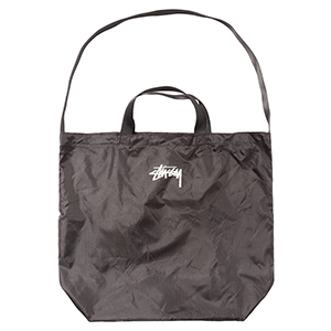 Stussy Nylon Ripstop Tote Bag Black