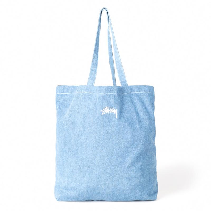 Stussy Vernon Tote Bag Blue