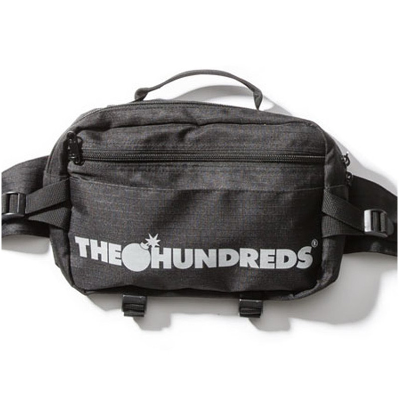 The Hundreds Bar Logo Bag Black