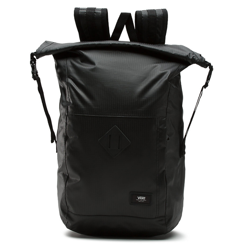 Vans Fend Roll Top Backpack Black
