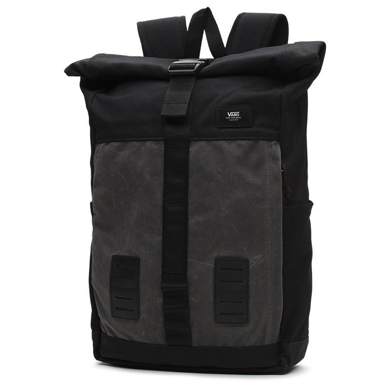 Vans Plot Roll Top Backpack Asphalt/Black
