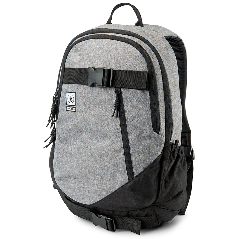 Volcom Substrate Backpack Black Grey