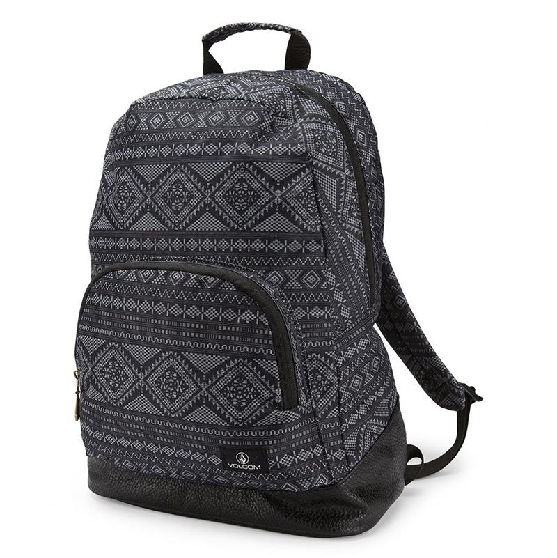 Volcom Fieldtrip Canvas Backpack Dark Charcoal