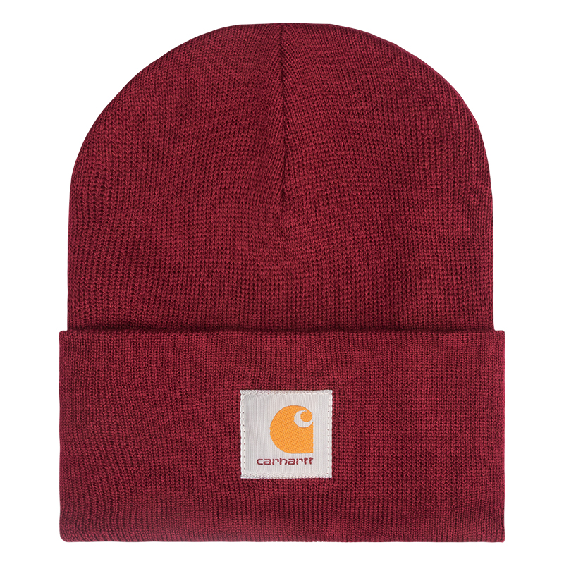 Carhartt Acrylic Watch Beanie Mulberry