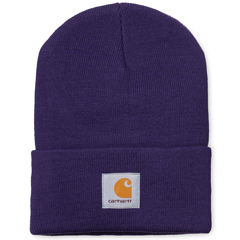 Carhartt Acrylic Watch Beanie Royal Violet