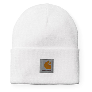 Carhartt Acrylic Watch Beanie White