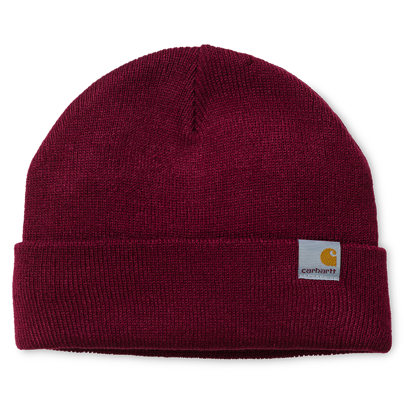 Carhartt Stratus Low Beanie Mulberry