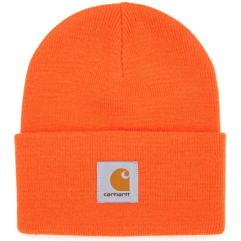 Carhartt WIP Acrylic Watch Beanie Safety Orange