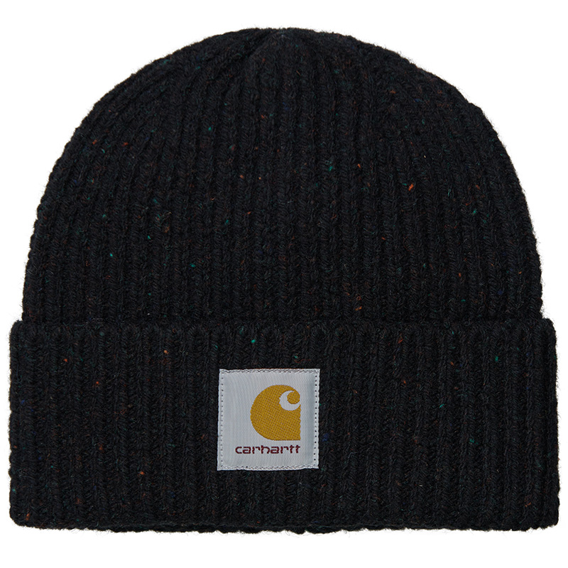Carhartt WIP Anglistic Beanie Speckled Black