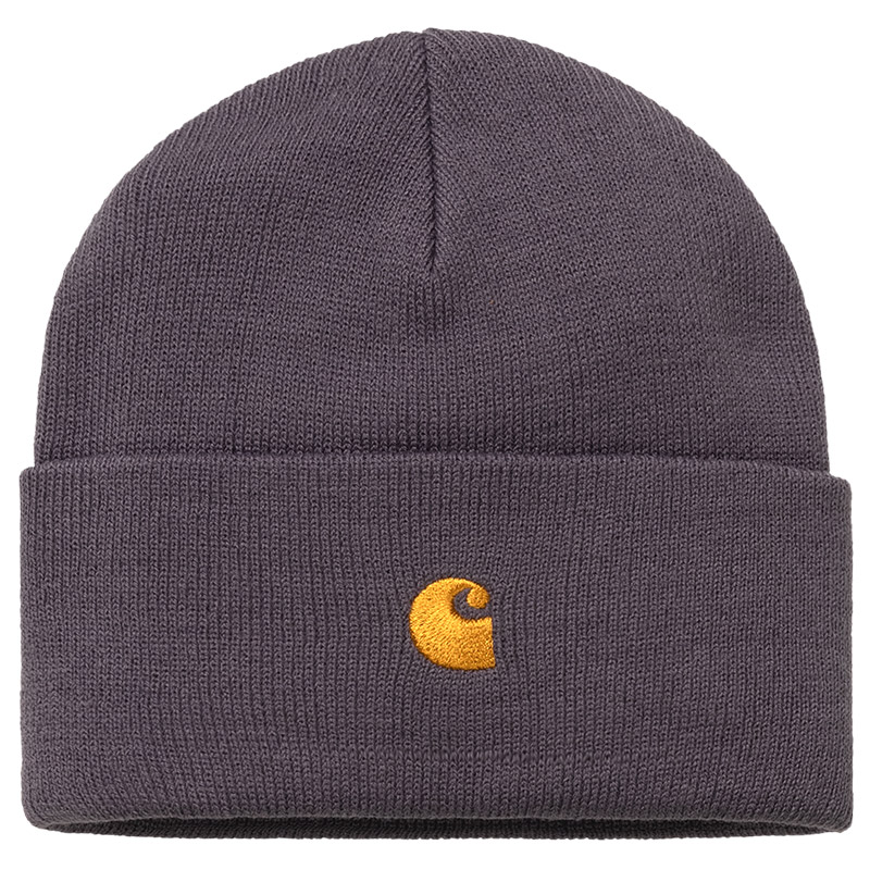 Carhartt WIP Chase Beanie Provence/Gold