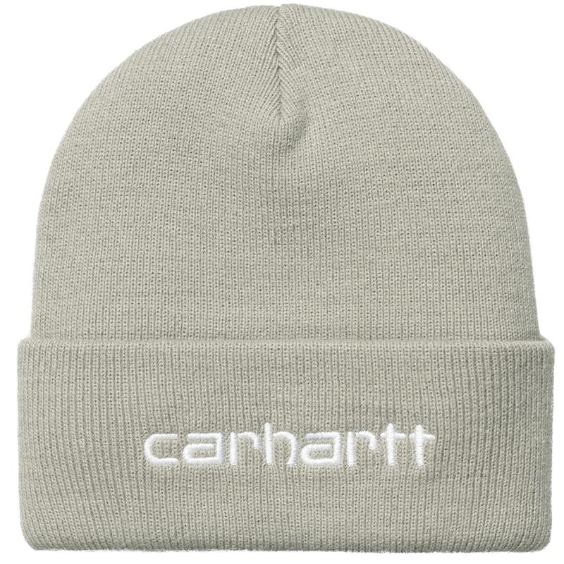 Carhartt WIP Script Beanie Hammer/White