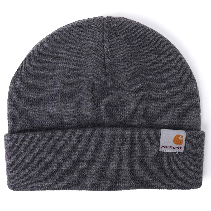 Carhartt WIP Stratus Low Beanie Dark Grey Heather