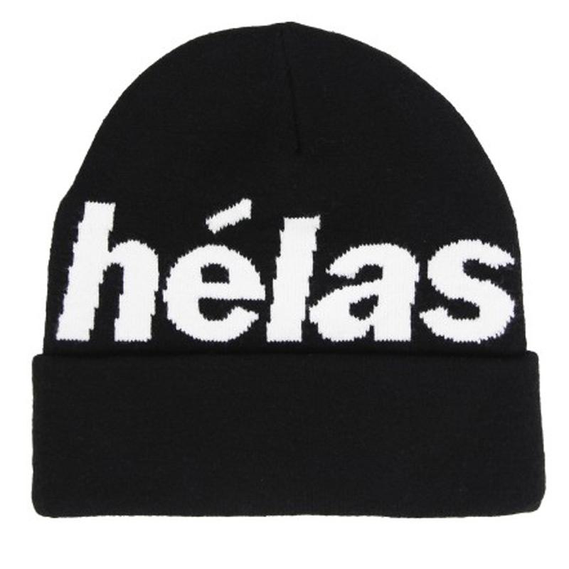 Helas Rep Beanie Black