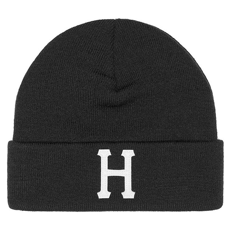 HUF Classic H Beanie Black