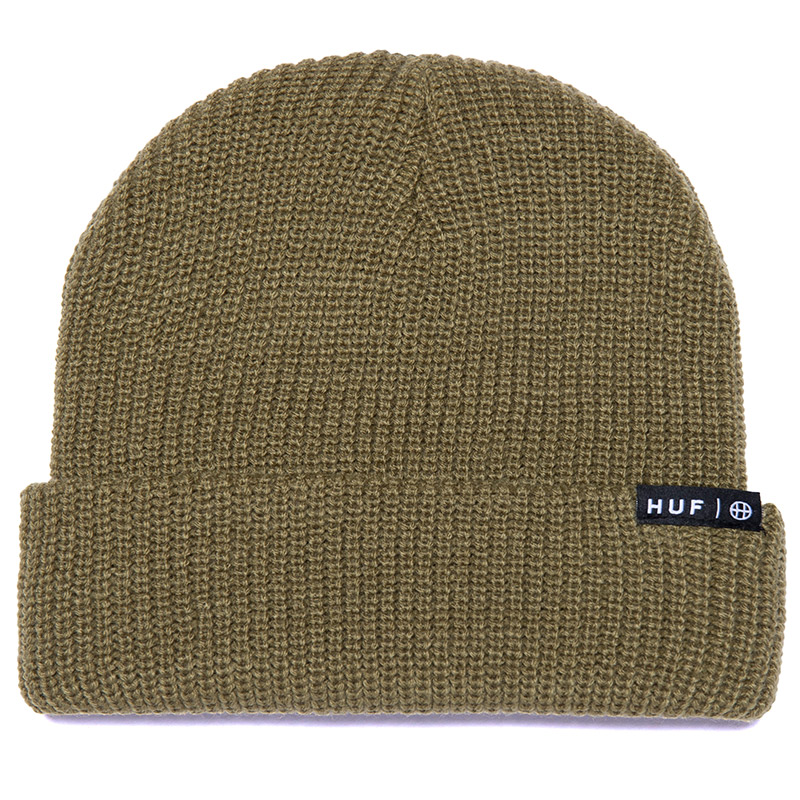 HUF Essentials Usual Beanie Olive