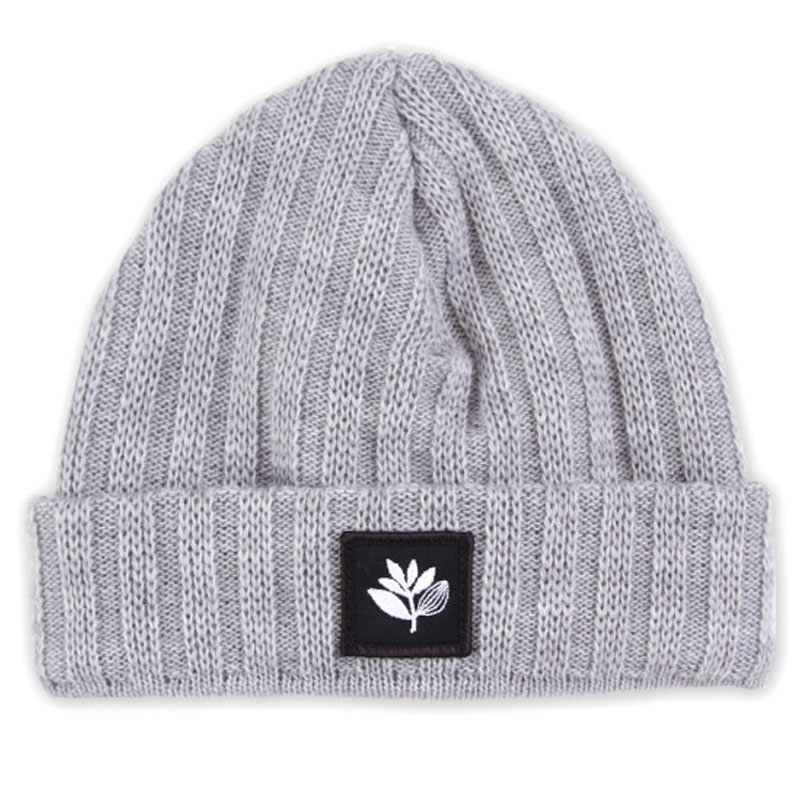 Magenta Beanie Heather Grey