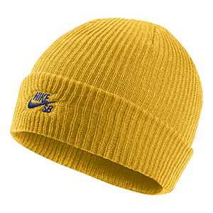 Nike Fisherman Beanie Yellow Ochre/Blue Void