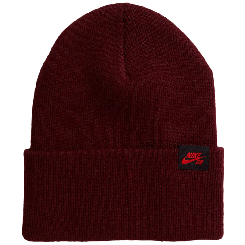 Nike SB Utility Beanie Dark Beetroot/Chile Red