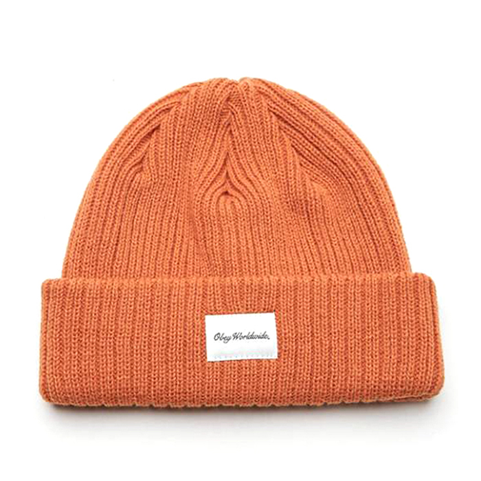 Obey Churchill Beanie Amber