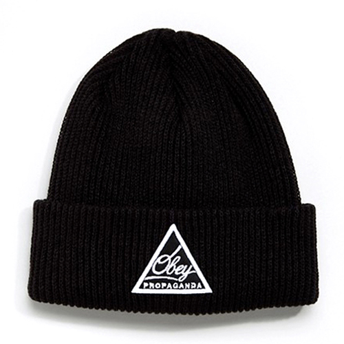 Obey Escape Beanie Black