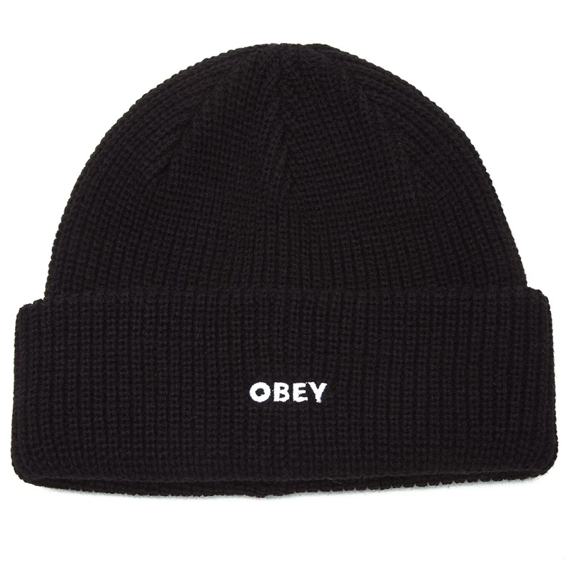 Obey Future Beanie Black
