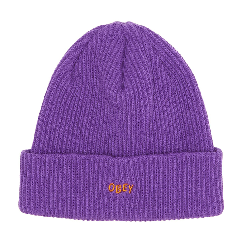 Obey Hangman Beanie Purple