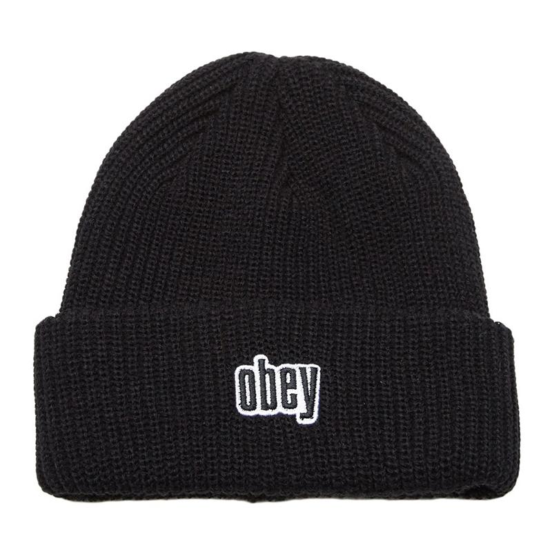 Obey Jungle Beanie Black