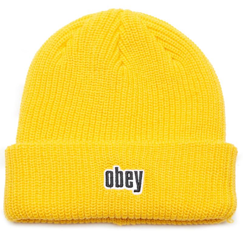 Obey Jungle Beanie Dusty Yellow