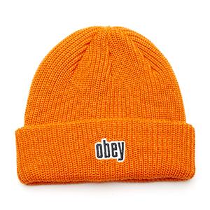 Obey Jungle Beanie Orange
