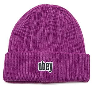 Obey Jungle Beanie Plum