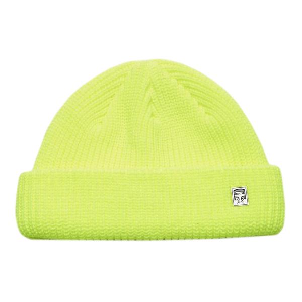 Obey Micro Beanie Bright Green