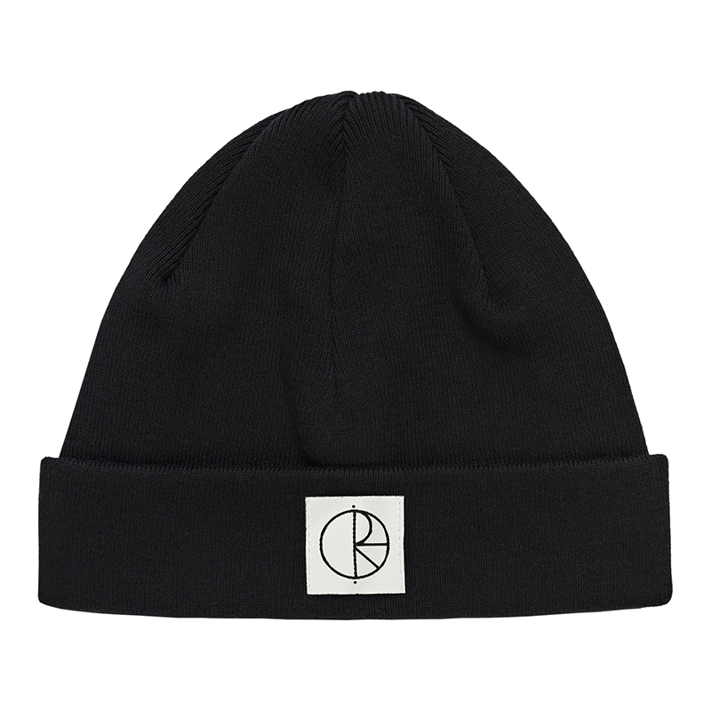Polar Cotton Beanie Black